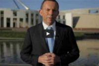 Shorten, Abbott deliver new year message. Not really...