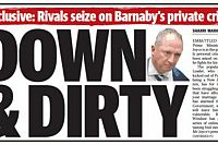 Who exactly is waging the 'Dirty War' on Barnaby?