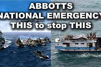 Tomorrow when the war began! Australia's 'national emergency'